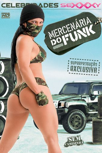 Poster de Mercenária do Funk
