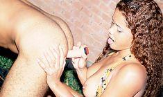 Gabriela fode gostoso com o funcionário bissexual de sua fazenda!